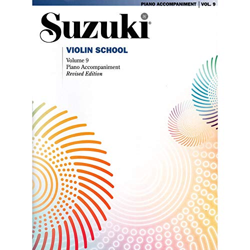 Suzuki Suzuki Violin School Piano Acc. Volume 9 Book