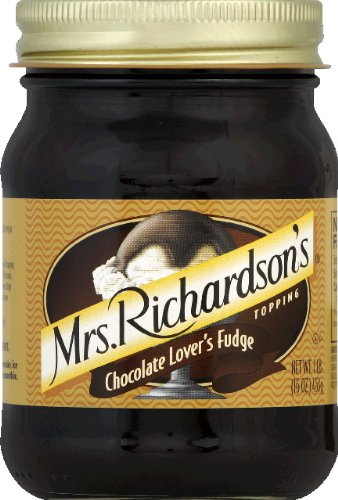 Mrs Richardsons Topping Fudge Chocolate Lovers, 16 oz