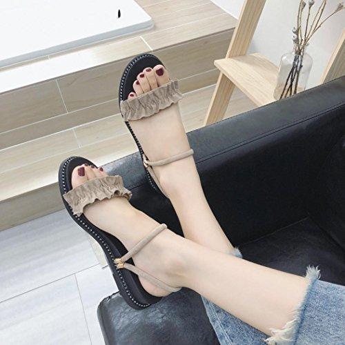 Peep Scarpe Sandali Eleganti Toe Donna qSEtxgw