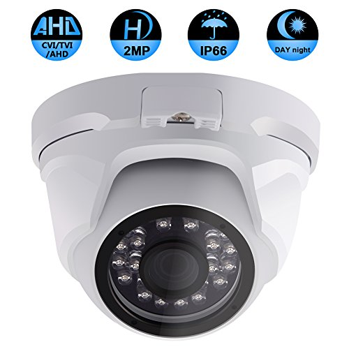 Security Dome Camera, ZY 2.0MP 3 in 1  IR night vision 1080P