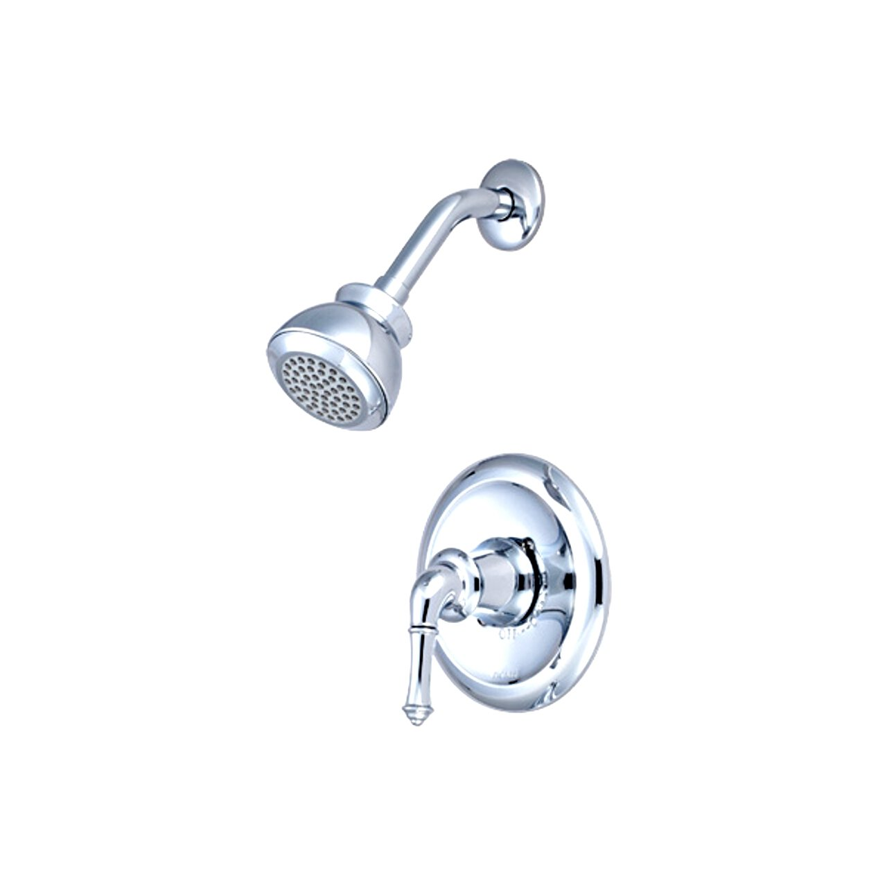 PVD Polished Chrome Finish Pioneer 4DM300T Single Handle Shower Trim Set