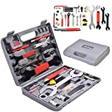 onestops8 44 PC Multi-Function Bike Bicycle Home Mechanic Tool Repair Kit Set Box Cycling