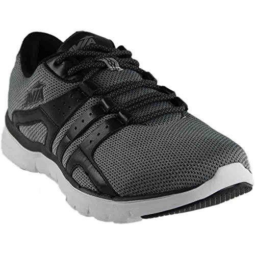 Avia Men's Avi-Mania Running Shoe, Frost Grey/Black, 9.5 M US