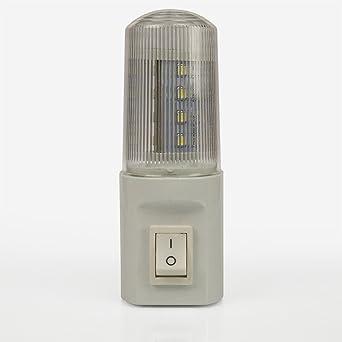 1 x extra Star LED Luz nocturna con sensor 0,7 W para Marchas Orientación