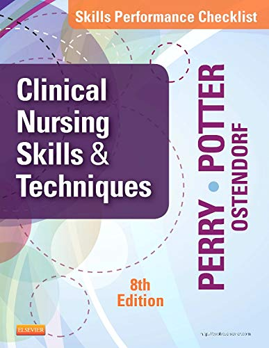 Skills Performance Checklists for Clinical Nursing Skills  Techniques