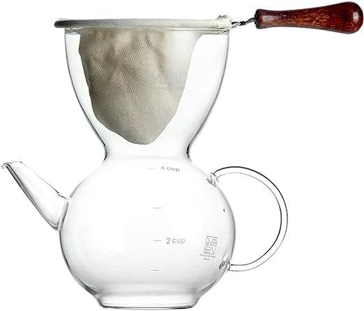 Xiaozou Cafetera cafetera Manual cafetera en Polvo cafetera Filtro ...