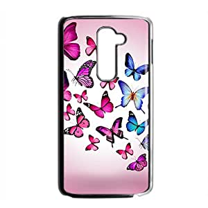 Butterfly World Hight Quality Plastic Case for LG G2