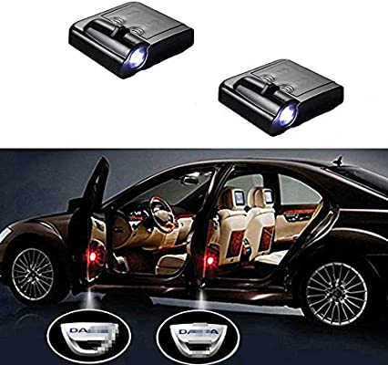 2PCS Car Door LED Logo Laser Projector Ghost Shadow Light Easy Installation Low Consumption Shadow Welcome Lights Compatible with BMW 3//5//6//7//Z//GT//X Series