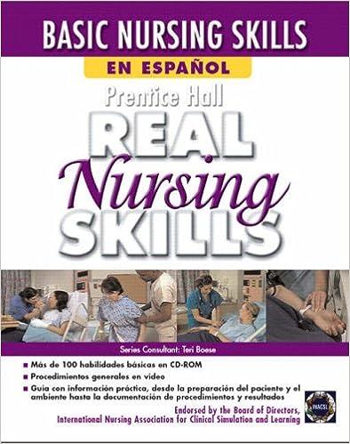 Prentice Hall Real Nursing Skills en Espanol: 9780131599017 ...