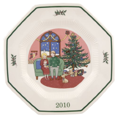"Nikko Christmastime 2010 ""The First Noel"" Collector's Plate, 10-1/2-Inch"