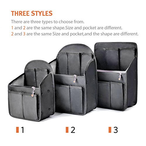 Black Shoulders Backpack Bag in Women Organizer for Insert l Black bag Rucksack bag UwBq1xv