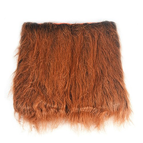 Raylans lion mane for dog, dog lion costume, funny dog halloween costumes,lion mane wig, halloween costumes for dogs,Dark Brown without (Homemade Costumes Of Pirates)