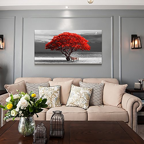 Buy red home decorations for living room
