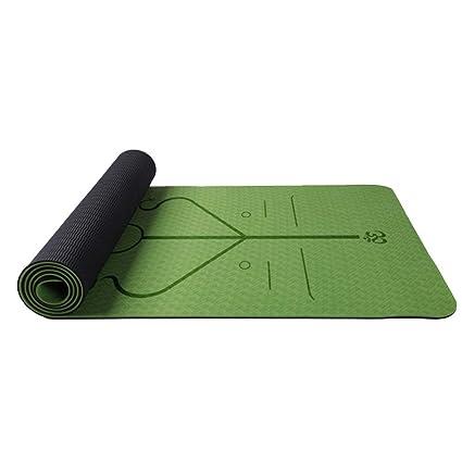 Amazon.com : ZhHaoXin Motion Eco Yoga Mat, Non-Slip Pilates ...