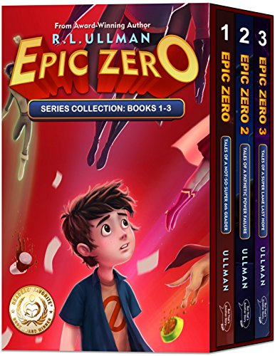 Epic Zero Box Set: Tales of a Not-So-Super 6th Grader (Books 1-3) (Childrens Spanish Books Kindle)