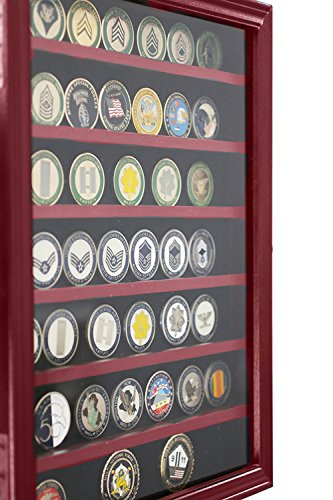 - DECOMIL-Military Challenge Coin& Poker Chips Holder with Door