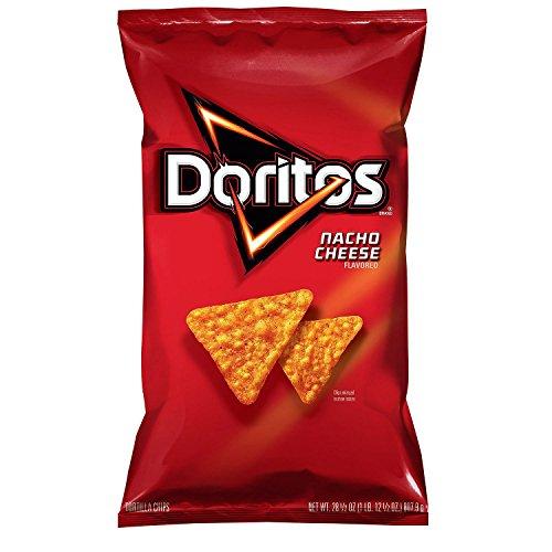 (Doritos Nacho Cheese Flavored Tortilla Chips (28.5 oz.) (pack of 2) )