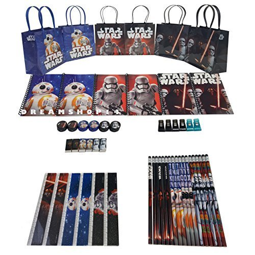 Disney's Star Wars Stationery Party Favor Set (54 Pcs) ()