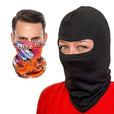 COZIA Premium Lightweight Balaclava - Full Face Ski Mask or Motorcycle Balaclava