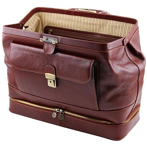 Tuscany Leather - Giotto - Esclusiva borsa medico in pelle con doppio fondo Miele - TL141297/3 Miele Hacer Un Pedido Manchester Venta Barata Grandes Ofertas De Liquidación qTvxED