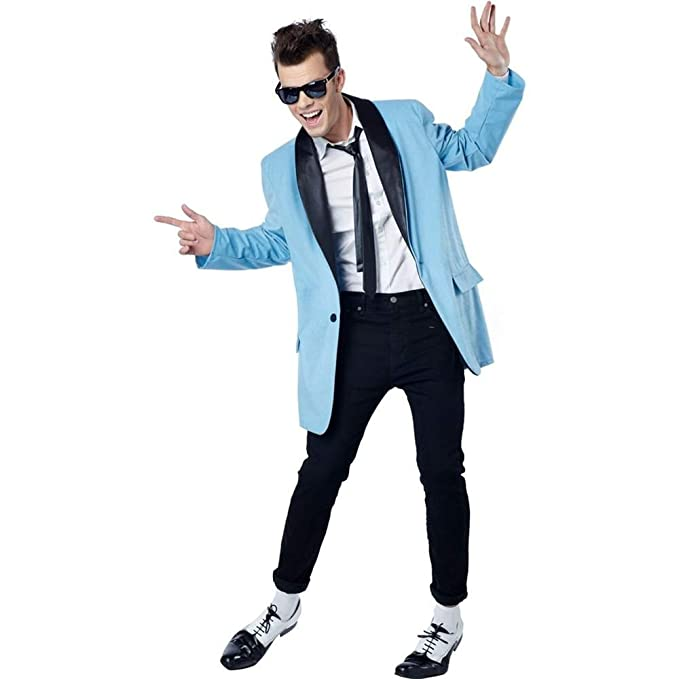 1950s Men's Clothing 50s Teen Rock Idol Adult Costume  AT vintagedancer.com