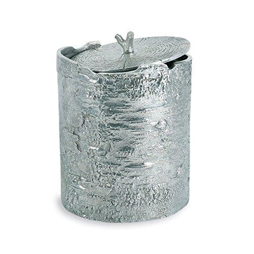Michael Aram Bark Ice Bucket , Silver by Michael Aram