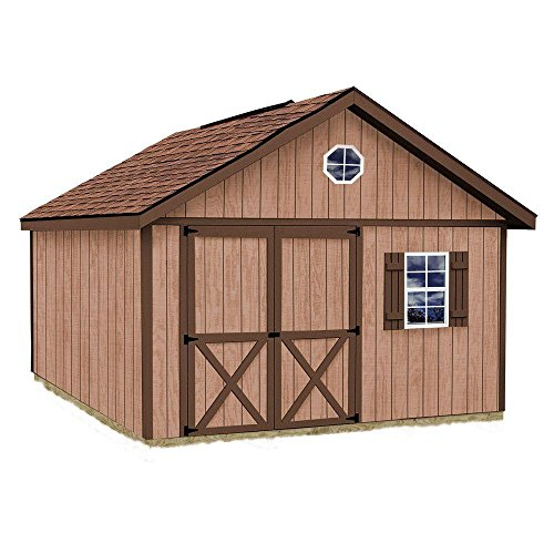 Best Barns Brandon 12′ X 16′ Wood Shed Kit For Sale
