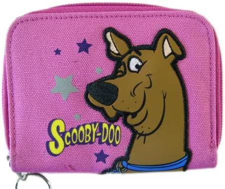 Scooby-Doo Zipper Wallet - Pink Scooby Doo Wallet