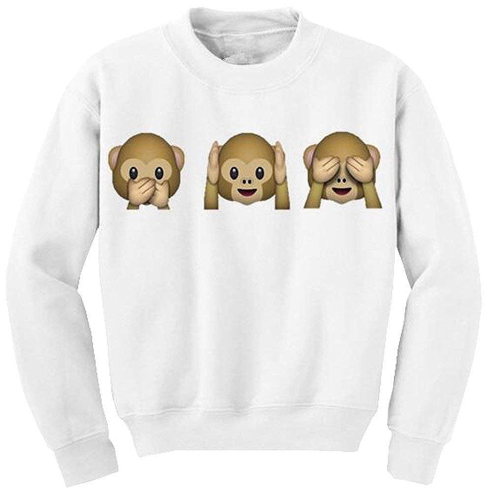 Rinalay Donna Pullover Tops Autunno Streetwear Felpe Sciolto Sport Shirt Modern Stile Manica Lunga Sweatshirts di Moda Animal Bedruckte Felpa Langarm-Top Casuale Maglioni Moda None