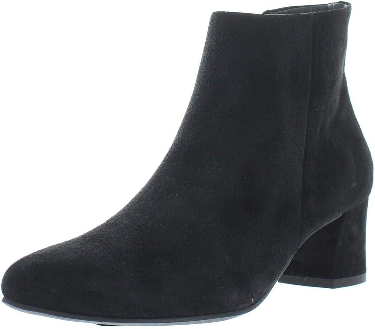 Stai attento schiudere cavità  Amazon.com | Paul Green Womens Bridget Suede Pointed Toe Ankle Boots Black  8.5 Medium (B, M) | Shoes