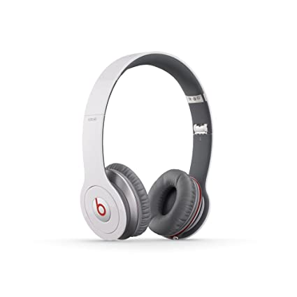 407fd378b93 Beats Solo HD Wired On-Ear Headphone - White (Discontinued by Manufacturer)