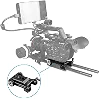 SmallRig Baseplate Bottom Plate for Sony FS5 with Two ARRI Rosettes on Both Sides - 1827