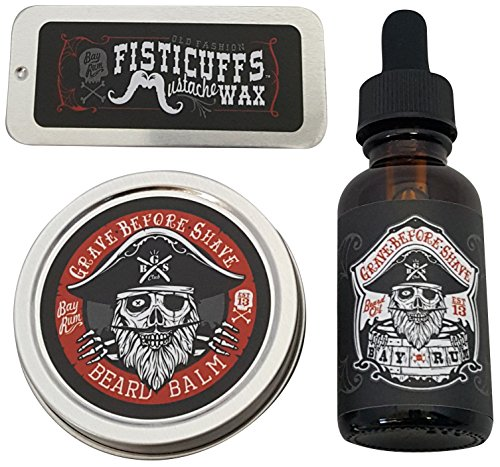 GBS Bay Rum Pack (Beard Oil And Mustache Wax compare prices)