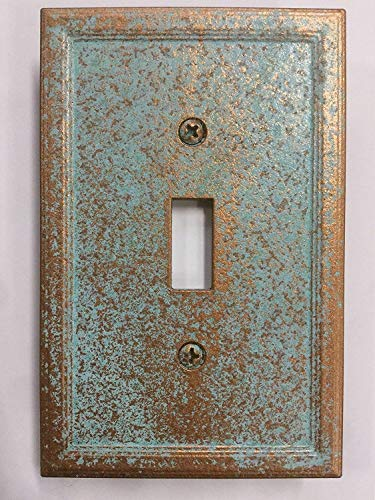 Aged Patina Light Switch Cover (Custom) - Ceramic Amerelle