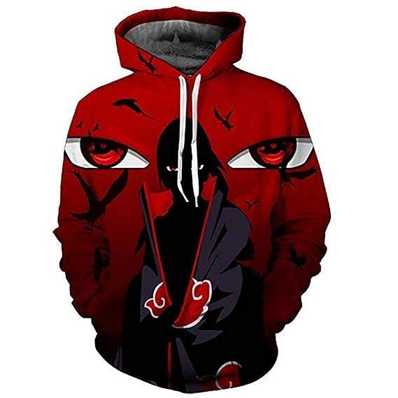 Herrenmode Fitnessmode Das Beste Uzumaki Naruto Cosplay Anime Kapuzen Sweatshirt Kapuzenpulli Hoodie Pullover Neu