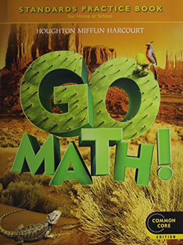 Go Math! Standards Practice Book, Grade 5