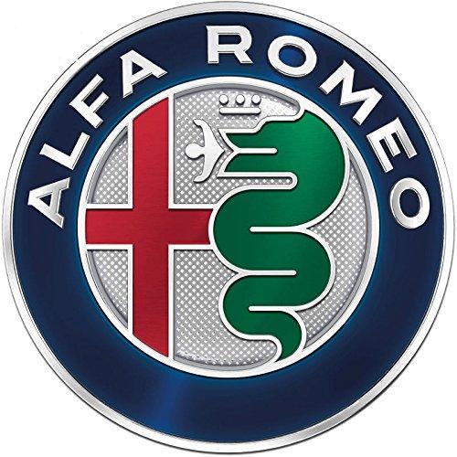 Escudo de Alfa Romeo para rejilla delantera o trasera, Giulietta, 159, Mito, 147, GT, 74 mm OEM