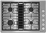 30 in downdraft cooktop - Jenn-Air Deals JGD3430BS 30 Inch Gas Sealed Burner Cooktop