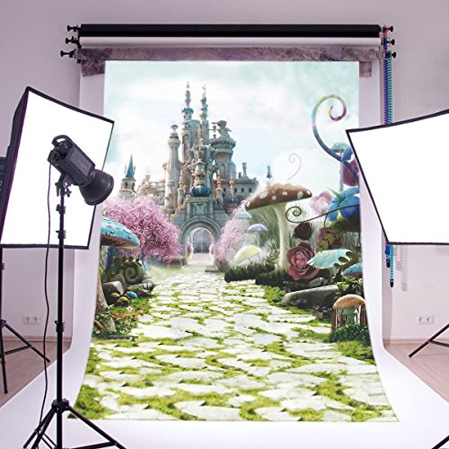 LB 5X7ft Dream World Vinyl Photography Backdrop Customized Photo Background Studio Prop JLT-6695