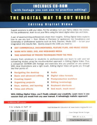 Editing Digital Video : The Complete Creative and Technical Guide