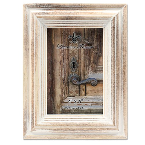 (4x6 White Wash Maple Picture Frame )