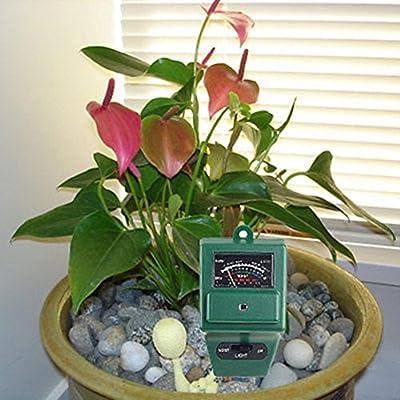 Garden Plant Flowers Soil Moisture pH Tester Meter Probe Accurate 3in1