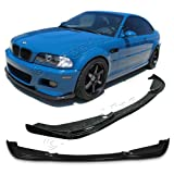 #6: NEW - 01 02 03 04 05 06 Aftermarket Made BMW E46 M3 ONLY Type-H Front PU Bumper Add on Lip