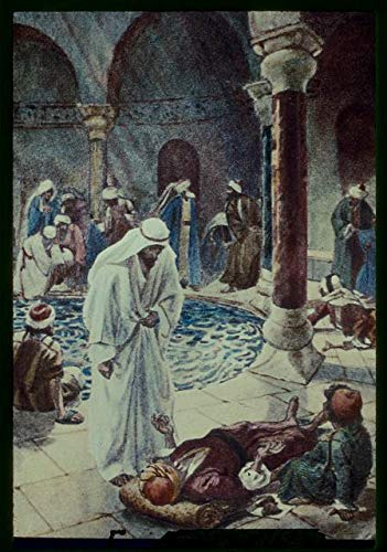 HistoricalFindings Photo: John 5:2-9,Jesus findeth an infirm Man at The Pool of Bethesda Waiting be Healed (The Man At The Pool Of Bethesda)