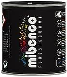 mibenco 72829005 Flüssiggummi Pur, 175 g, Schwarz Matt - Schutz und Isolation zum Tauchen und Pinseln
