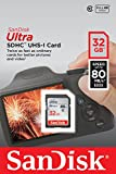 SanDisk Ultra 32GB Class 10 SDHC UHS-I Memory