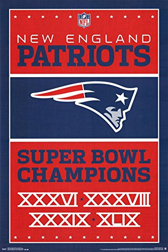 Trends International New England Patriots Champions Wall Poster