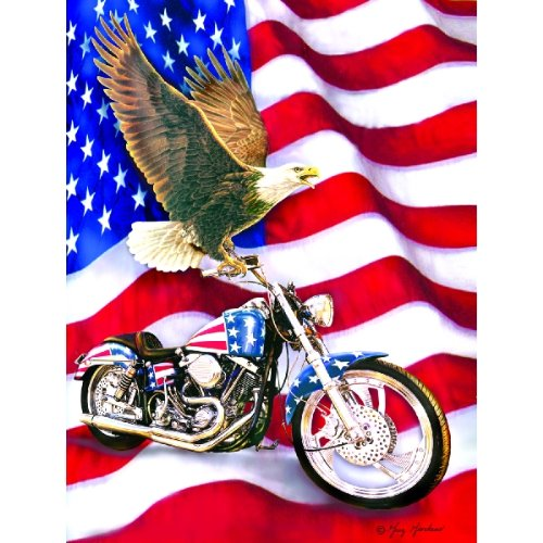 Symbols of Freedom 500 pc Jigsaw Puzzle