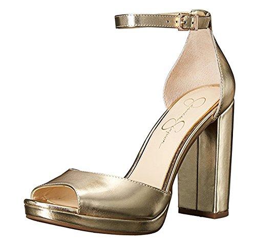 Jessica Simpson Peep Toe Pumps (Jessica Simpson Women's Jenee Pump)