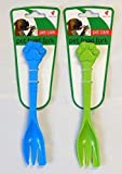 Cheap The Home Fusion Company 1 X Pet Dog Cat Food Fork Feeding Scooping Tin Meat Kitten Puppy Green Or Blue